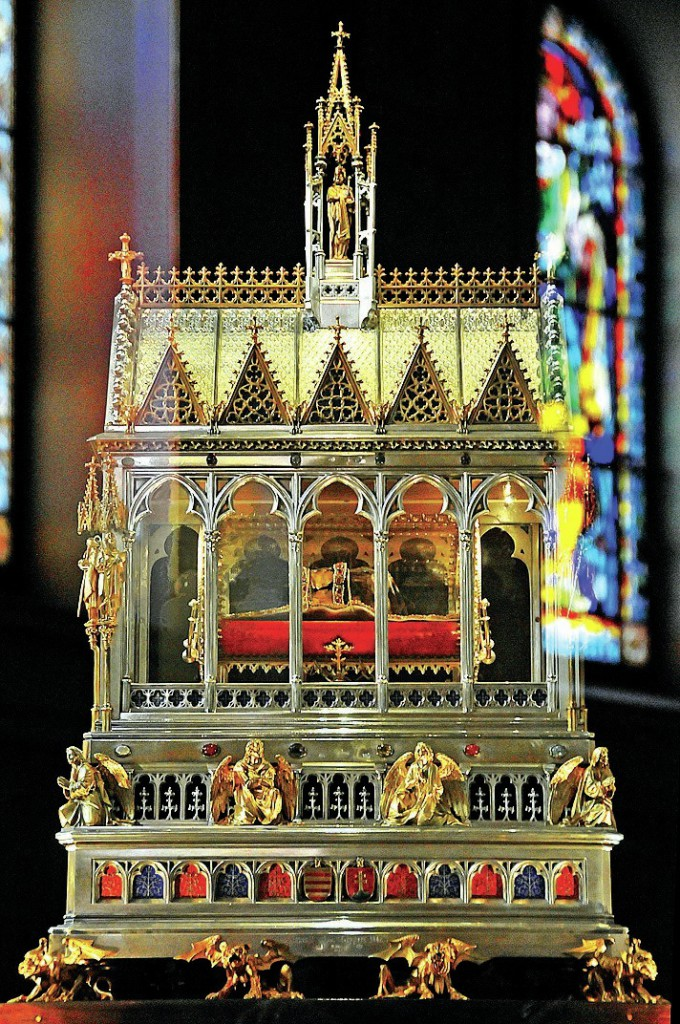 Zlatý relikviář