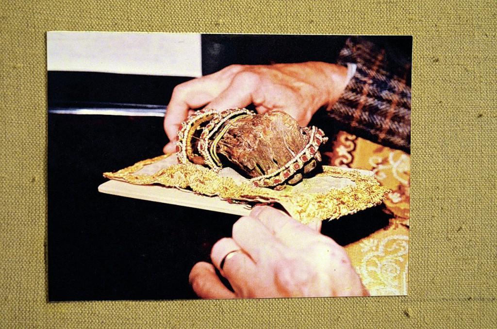 Pravá ruka sv. Štěpána