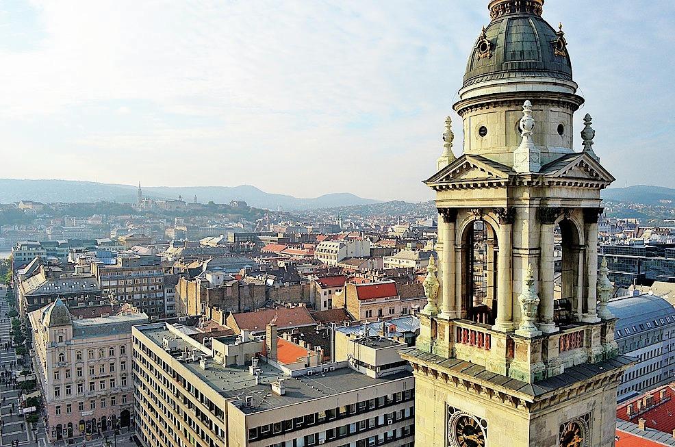 Výhled z ochozu katedrály