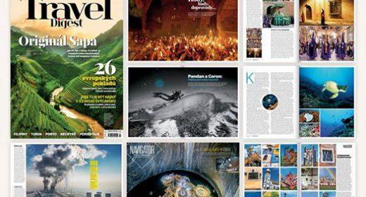 Nové číslo Travel Digestu je na stáncích
