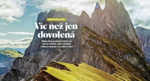 Nový Travel Digest s výběrovým tichem hor!