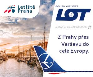 LOT. Z Prahy přes Varšavu do celé Evropy.