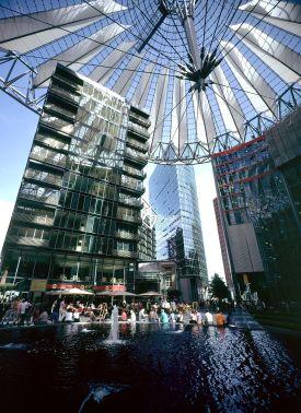 Berlín - Sony Centrum