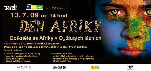 Den Afriky 2009 - pozvánka