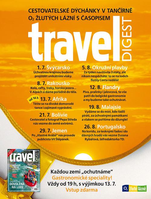 Cestovatelské dýchánky - pozvánka