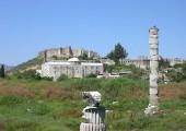 Tak takhle to v Efesu vypadá dnes (foto: Wikipedia)