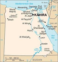 Egypt - mapa
