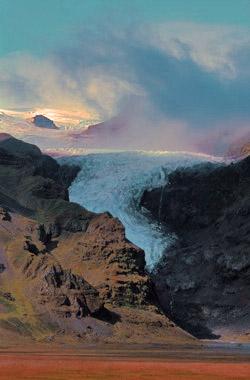 Turisté na Islandu mohou sledovat výbuch sopky
