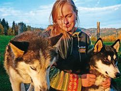 Jana Henychová: Napříč Norskem se psím spřežením