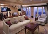 Jedno z luxusních apartmá na Queen Mary 2 (foto: Cunard Lines)