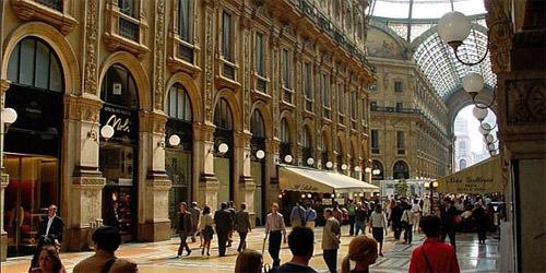 Miláno - Hotel Galleria