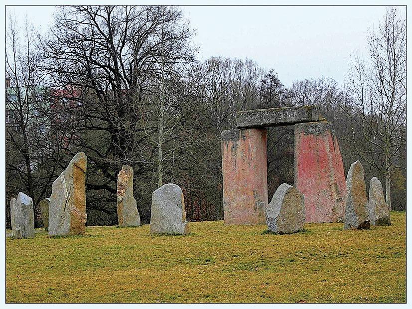 Replika Stonehenge ve Strakonicích