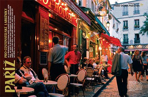 Paříž pro cestovatelské labužníky