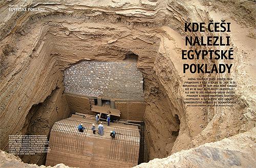 Kde Češi nalezli egyptské poklady