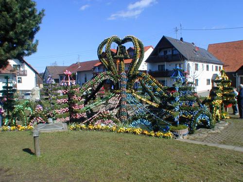 Užijte si bavorské Velikonoce v kašně!
