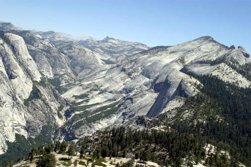 Yosemite: Zkamenělá indiánská kráska